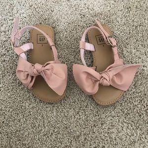 Little girl Gap sandals